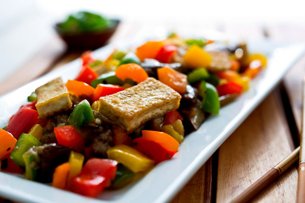Chinese Tofu Recipe – Tofu With Chinese Sausage Recipe